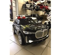 Детский электромобиль Electric Toys BMW X7 Lux (2020) черный (автокраска)