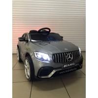 Детский электромобиль Electric toys Mercedes GLC63S ПОЛНЫЙ ПРИВОД 4х4 цвет графит  (автокраска)