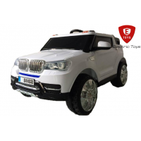 Двухместный детский электромобиль Electric Toys BMW X5 Lux - белая