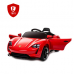 Детский Электромобиль Electric Toys Porsche Sport QLS Lux кожанное сидение мягкие кол.красный