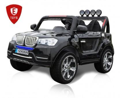 Детский двухместный Электромобиль Electric Toys BMW X7 Lux Sport 9088(увеличенная емкость аккумулятора)