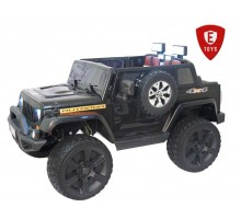 Детский электромобиль Electric Toys Jeep Wrangler двухместный 24 вольта 4x4( полный привод)